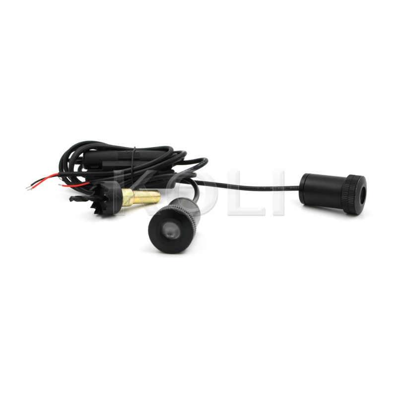 2x アルバニアイーグル車ドアカーテシ歓迎ランプ LED レーザープロジェクターゴーストシャドウライト