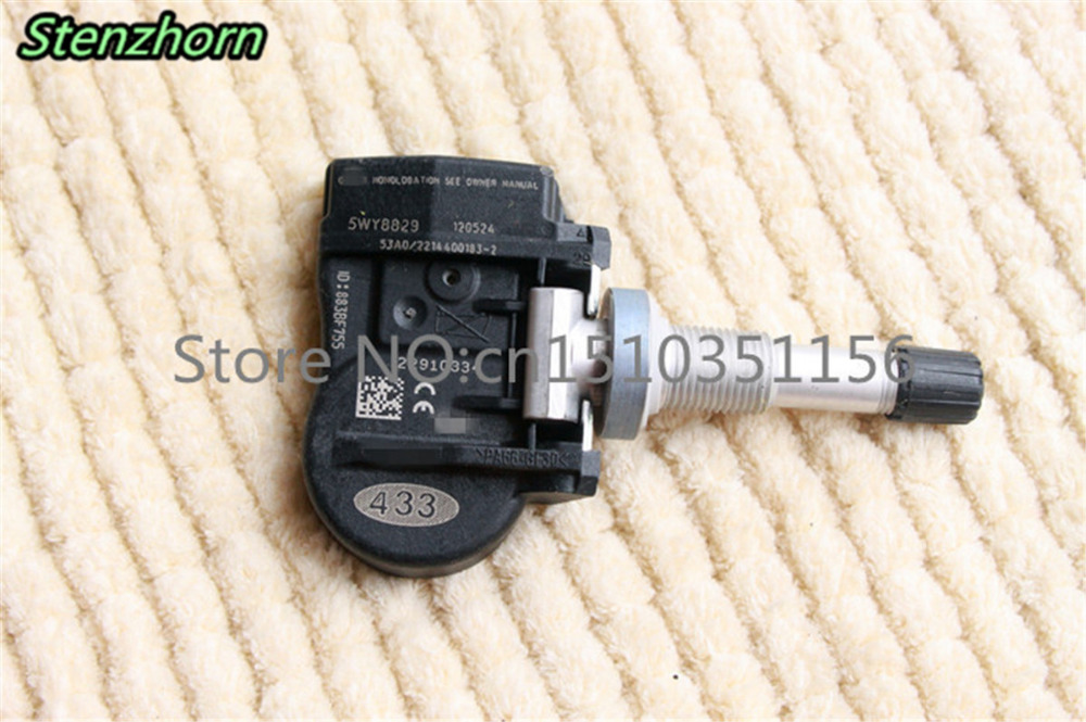 Stenzhorn x1 Tire Pressure Monitoring System Sensor 22910334 font b TPMS b font For Buick 5WY8829