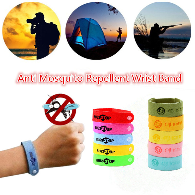 1/10Pcs Children Anti Mosquito Wristband Mosquito Bracelet Insect Bugs Repellent Bracelet For Baby Home Outdoor Pest Repellent