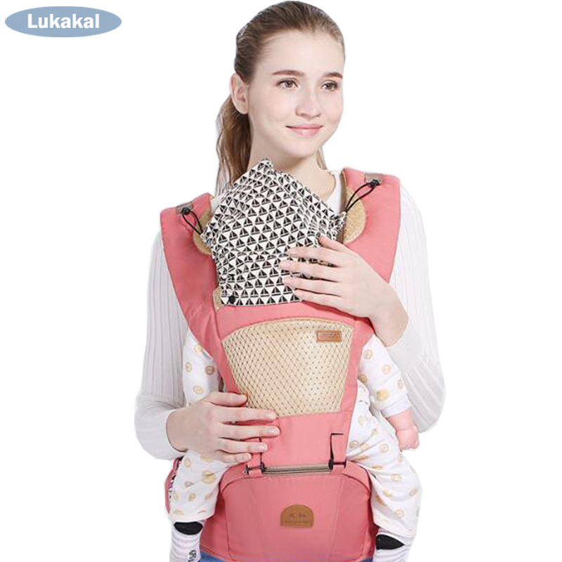 Removable Baby Sling 3 Carry Types Baby Carrier Multifunctional Baby Backpack Soft Cotton Baby Cangaroo For 0M To 3 Years