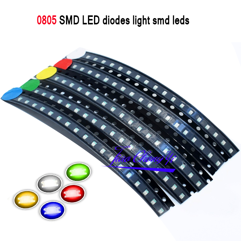 Red White Blue Yello Green Yellow 0805 SMD LED Diodes Light Smd Leds