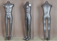 New Arrival Male Full Body Hat Uniform Top Pant Inflatable Mannequin Dummy Model Display