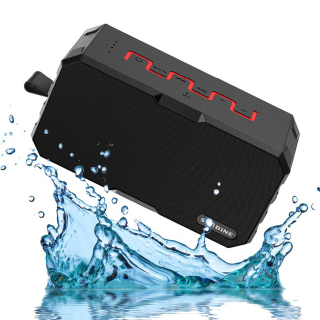 Original Mini Portable Bluetooth Speaker Outdoor Wireless Waterproof IP67 speaker Support TF Card with Mic 2600MAH Power Bank