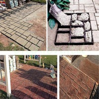 DIY Plastic Mold for Garden Brick Molds Path Maker Mold Paving Cement Stone Mould Building Supplies
