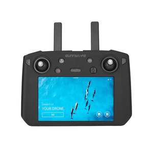 Image 3 - mavic 2 Smart remote control with screen silicone protection cover for dji mavic 2 pro zoom drone Transmitter Accessories