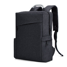купить CAI Simple Men Laptop Backpack Waterproof School Bag Casual Travel Book Bag Anti-Theft Back Pack Shoulder Bags Boys Backbag по цене 952.98 рублей