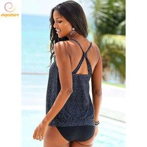 Image 3 - 2020 ชุดว่ายน้ำ Tankini ผู้หญิง Retro ชุดบิกินี่ชุดว่ายน้ำบราซิลชุดว่ายน้ำ VINTAGE ชุดว่ายน้ำเอวสูงชุด Tankini Beachwear