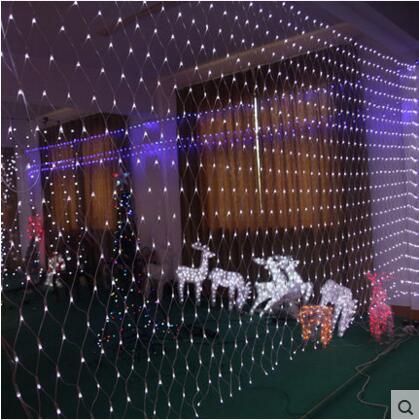 Nowy Rok 6x3m Girlanda LED Christmas Lights Dekoracja zewnętrzna - Oświetlenie wakacje - Zdjęcie 6