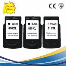 PG-810XL PG 810XL CL 811XL PG810XL CL811XL CL-811XL Ink Cartridges For Canon Pixma MP287 MP486 MP496 MP497 MX328 Inkjet Printer