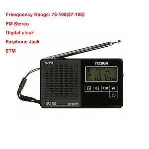 Image 2 - TECSUN PL 118 Ultra Light Mini Radio PLL DSP Banda FM Radio Internet Portatil Am Fm Radio FM:76.0 108MH /87.0 108MHz