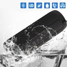 Sem fio Bluetooth Speaker À Prova D' Água LEVOU Lanterna Caixa de Coluna Subwoofer Bluetooth parleur Haut-Speakerphone Speaker Portátil