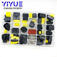 424 Pcs Denso 1 16Pin Way Waterproof Wire Connector Plug Car Auto Sealed Electrical Set Car Truck connect Kit