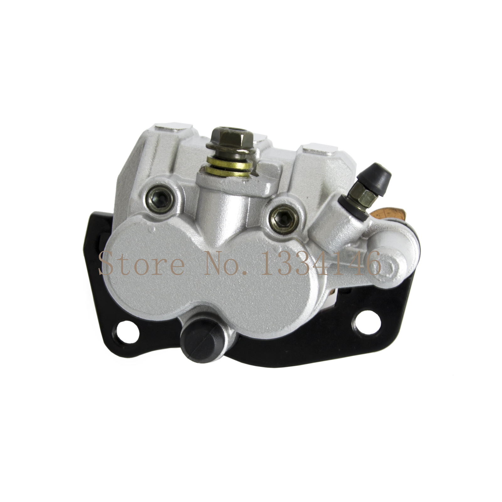 ФОТО Front Left Brake Caliper With Pads New Fits For Suzuki Burgman AN400 2007 2008 2009 2010 2011