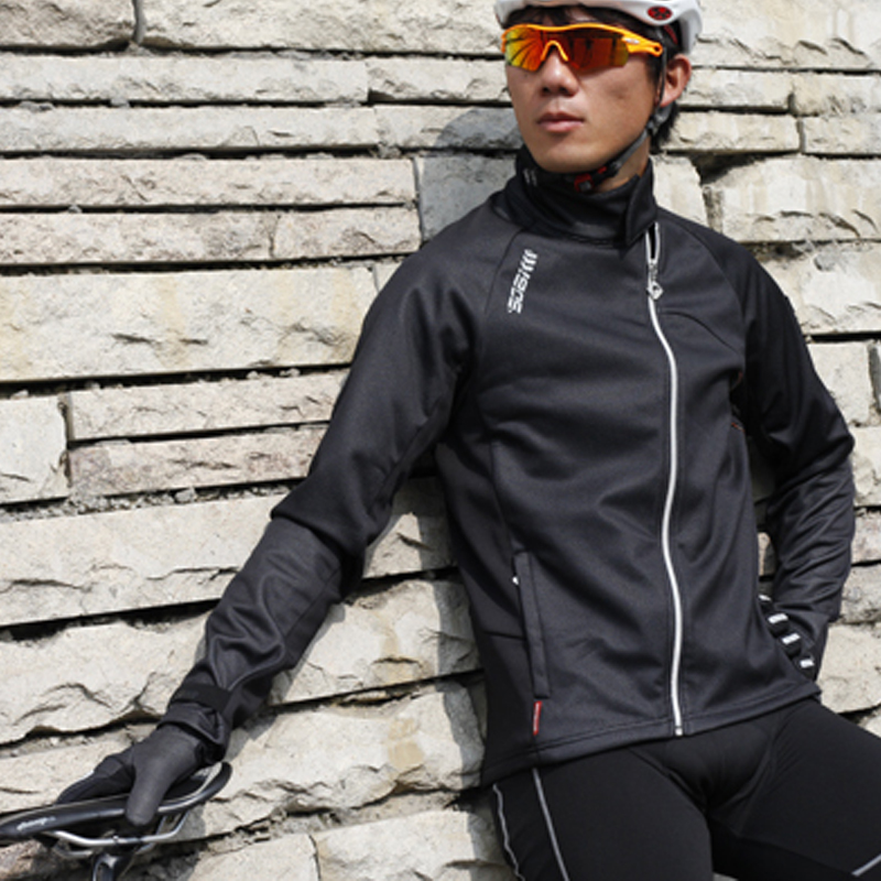 цена на LANCE SOBIKE Bicycle New Jersey Cycling Fleece Thermal Men Long Winter Jacket-Cook MTB Windproof Outdoor Sport Cycling Clothing