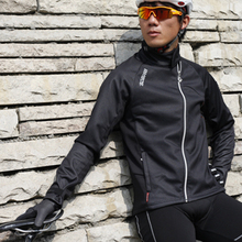 LANCE SOBIKE Bicycle New Jersey Cycling Fleece Thermal Men Long Winter Jacket Cook MTB Windproof Outdoor