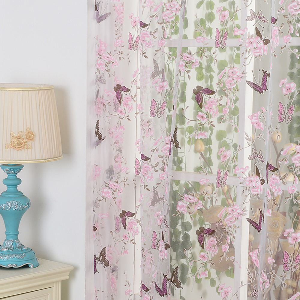Purple butterfly curtains - Fabric Butterfly Shower Curtain Purple Butterfly Shower Curtain Aliexpress Com Buy Isinotex Window Curtain Purple