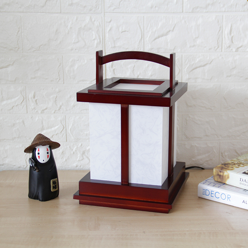 Bedside Lamp Japanese Style Portable Nightstand Desk Light Tatami Lattice Lamp Solid Wood Table Lighting E27 Modern Design Bedside Lamp Japanese Style Portable Nightstand Desk Light Tatami Lattice Lamp Solid Wood Table Lighting E27 Modern Design