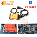 V5.00.8R2 MVDiag MVDiag tcs cdp con bluetooth cdp herramienta de diagnóstico para coches/camiones cdp 3 en 1 como TCS Pro cdp multidiag pro