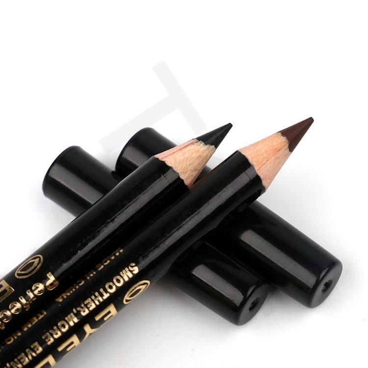 by DHL 500Set M.n Menow Professional makeup Golden tubes thick mascara Set With Gift Two Pencil black / brown Color 10001371