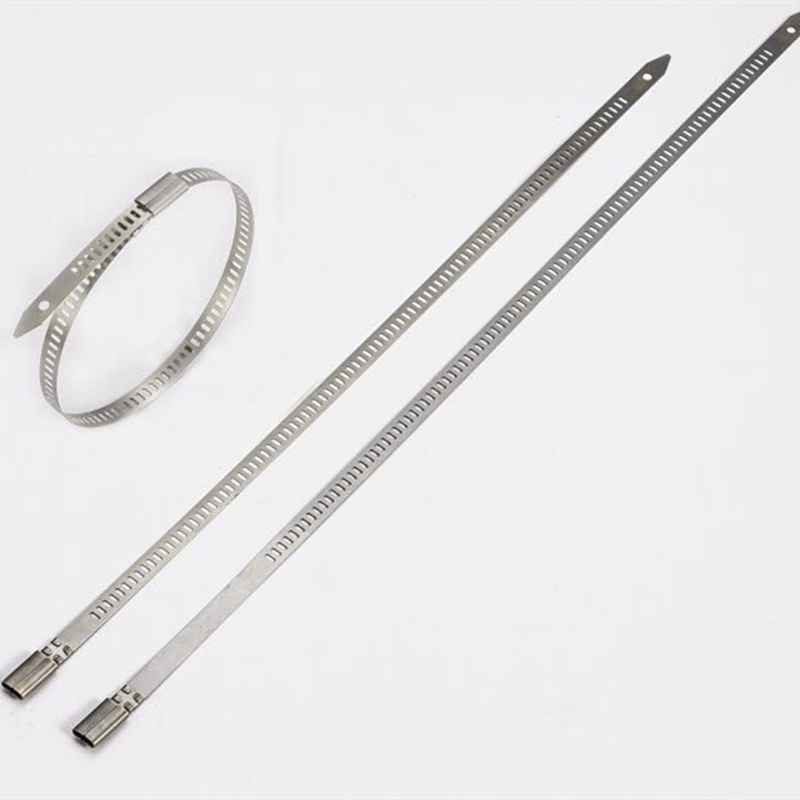 10 X Acier Inoxydable Métal Zip Ties 300 mm exhaust wrap Tuyau Induction pipe