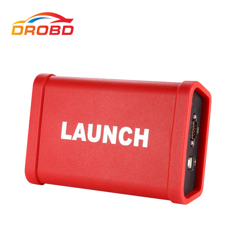 Newest LAUNCH X431 HD Heavy Duty Truck Diagnostic Adapter Work for X431 V+ X431 Pro3 pad ii 2 Software Free Update Online тестер аккумулятора launch x431