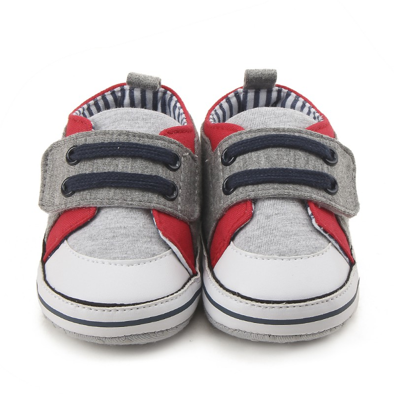 Baby Boys First Walkers Soft Sole Casual Shoes Non-skid Toddler Girls Function Crib Shoes for 2018 Spring
