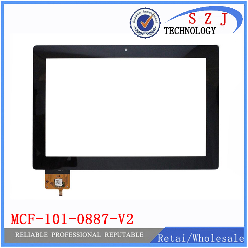 New 10.1 inch MCF 101 0887 V2 touch digitizer screen glass for Lenovo S6000 touch panel MCF-101-0887-V2 Free shipping