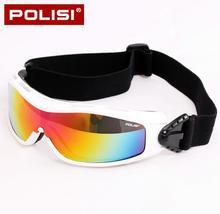 POLISI Winter Snowboard Skate Goggles UV Protection Outdoor Windproof Snow Glasses Children Kids Ski Skiing Snowmobile Eyewear