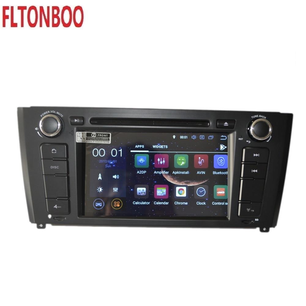 7 Android 8,1 для BMW 1 серии E81/E82/E88 2004 2011 Автомобильный gps навигация, px3, Wifi, 3g, 2GB ram, сенсорный экран, рулевое колесо, canbus