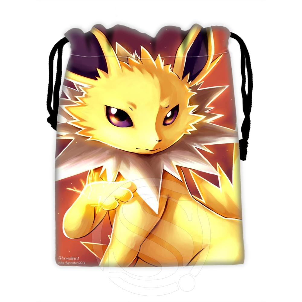 H-P592 Custom Eevee #30 Drawstring Bags For Mobile Phone Tablet PC Packaging Gift Bags18X22cm SQ00729-@H0592
