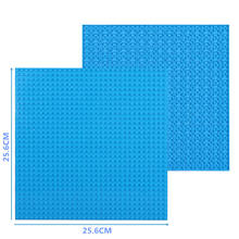 High-Quality Double-sided 32*32 Dots Baseplates For Small Bricks DIY Building Blocks Base Plate Compatible with Classic Blocks