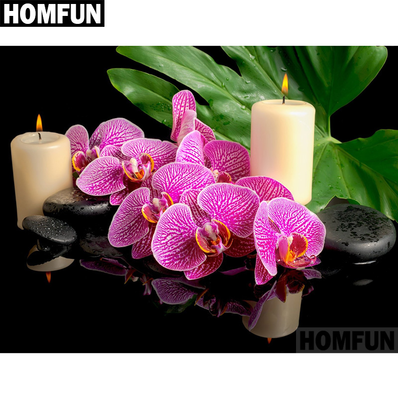 A06648           Orchid candle