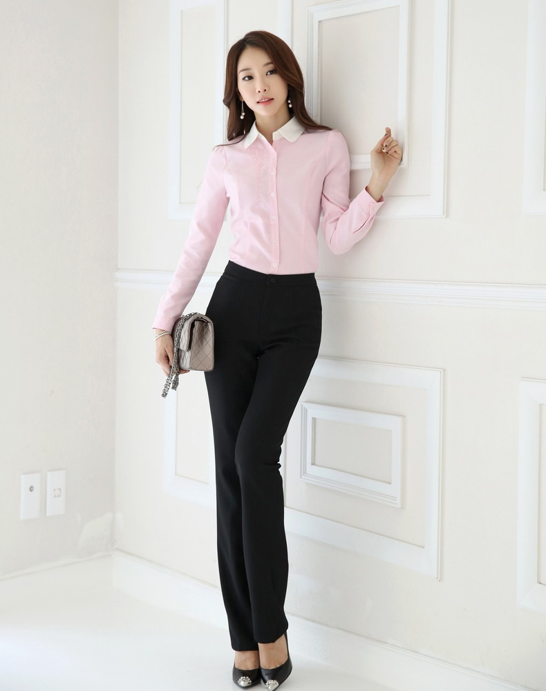 Fashion Female Pantsuits Women Trousers Suits Pant Blouse Sets Shirts & Tops Ladies Work Wear OL - Kidmall Online Store store