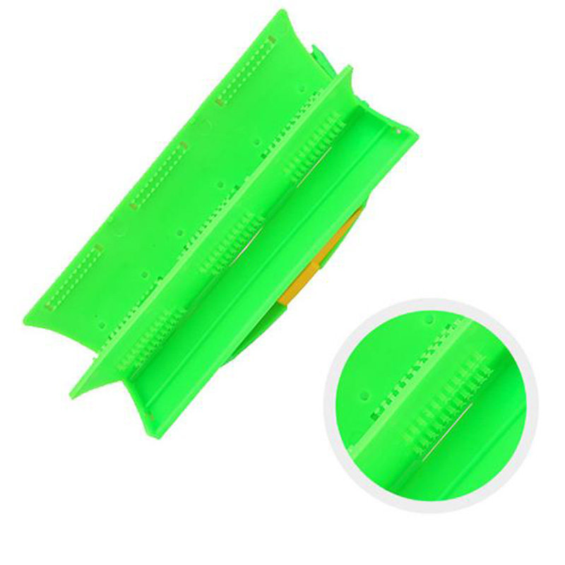 Multi-purpose Foldable Handle Car Glass Wiping Groove Clean Brush Cleaner Cloth Tool Hot Sale