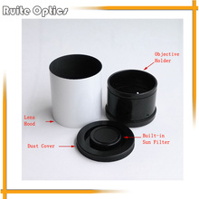 Big discount Upscale Lens Hood Dia 83.3mm Astronomical Telescope Objective Holder with Sun Filter Dust Cover For 80mm Astronomic Telescope