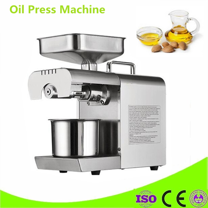 Commercial Cold Sesame Coconut Oil Press Machine Oil Extractor For Flaxseed Walnut Kernel Pumpkin Seed Oil Pressing Machine dl zyj05 oil press machine stainless all steel seed oil extractor hot cold press for peanut sesame flaxseed coconut cocoa