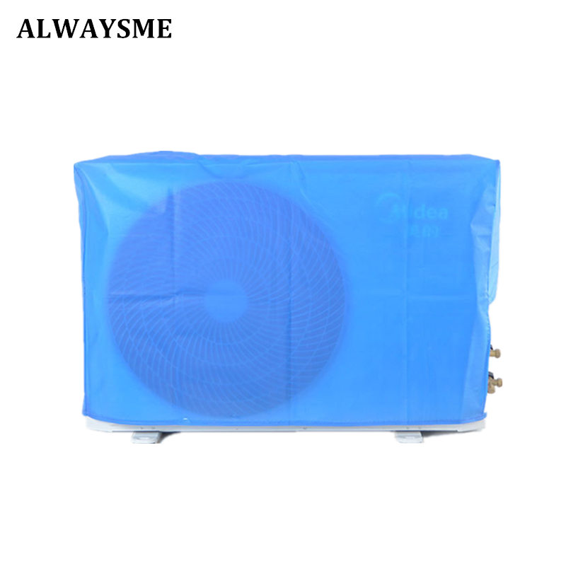 ALWAYSME Outdoor Window Unit Air Conditioner Conditioning Cover For Washing Household Cleaning Tools Non Woven Fabric Material
