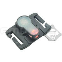 FMA S-LITE Sistem Helm Safety Light Survival Tahan Air Lampu Tinggi & Rendah Suhu Sinyal Strobe 6 Warna #(China)