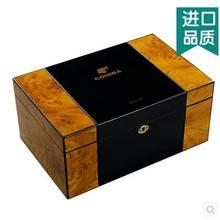 Роскошный первоначально деревянные строения коробка для хранения сигар коробку из-под сигар ciager organizadores мужчин подарочной коробке XJH016
