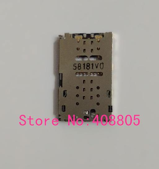 US $11 11 |2pcs/lot, Original new SIM card reader connector module for  Motorola Droid Turbo2 for MOTO X Force XT1580 XT1581 XT1585-in Mobile Phone