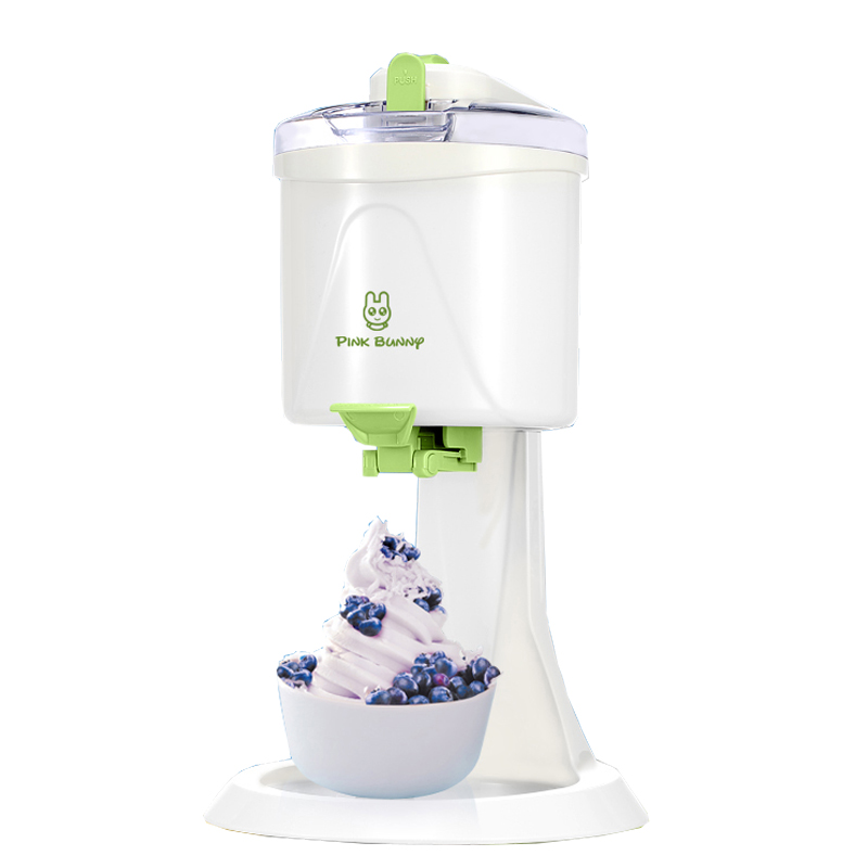 цена на 1L Desktop Ice Cream Machine Household Automatic Hard Cone Ice Cream Machine Large Capacity DIY Fruit Ice Cream Maker BL-1000
