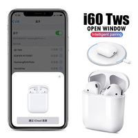 i60 TWS Wireless Bluetooth Earphone Separate Use QI Wireless Charging Pop Up i60TWS Bass Earphones PK 1:1 i30 i20 i12 i10 TWS
