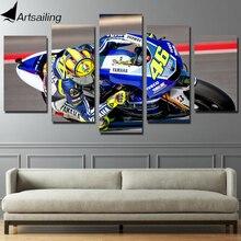 HD impreso carrera de moto de pintura de la lona impresión habitación decoración de la pared impresión cartel cuadro lienzo envío gratis/cu-349
