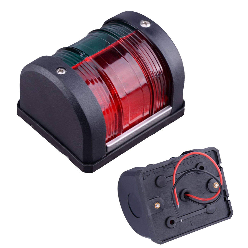 Super Bright Bow Navigation Sailing Signal Light Waterproof  Marine Boat Navigation Light Fit 12V