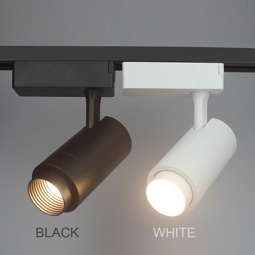 Beam Angle Adjustable 12w 7w 15w 10w 20w Cob Led Track Light