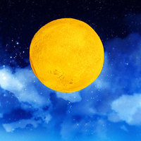 USB Rechargeable 3D Printing Moon Lamp 2 Color Touch Bedroom Desk Night Light Decor Blub Creative
