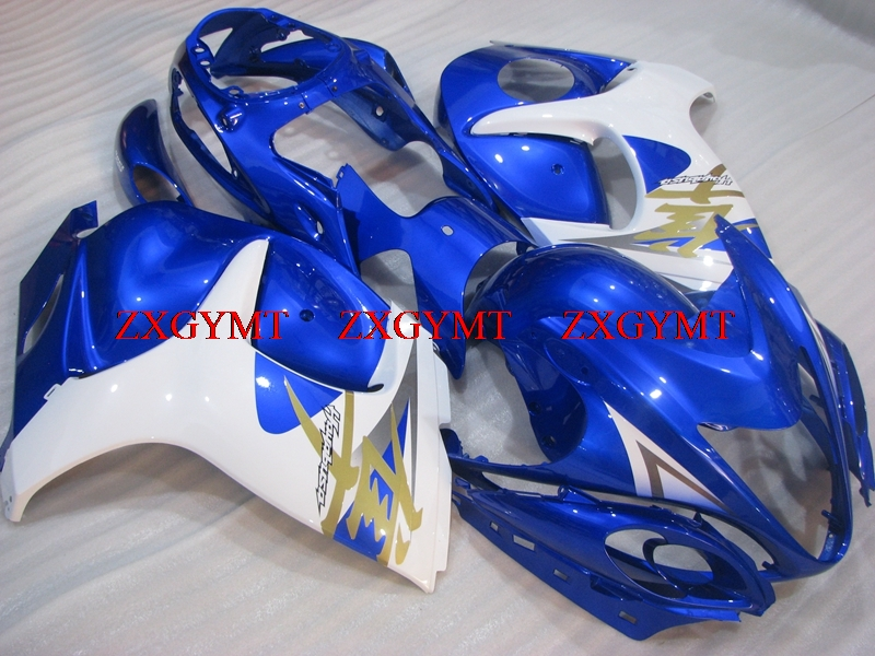 Bodywork for HAYABUSA 2008 - 2014 Plastic Fairings GSX R1300 2012 Blue White Abs Fairing Gsx 1300R 2008Bodywork for HAYABUSA 2008 - 2014 Plastic Fairings GSX R1300 2012 Blue White Abs Fairing Gsx 1300R 2008