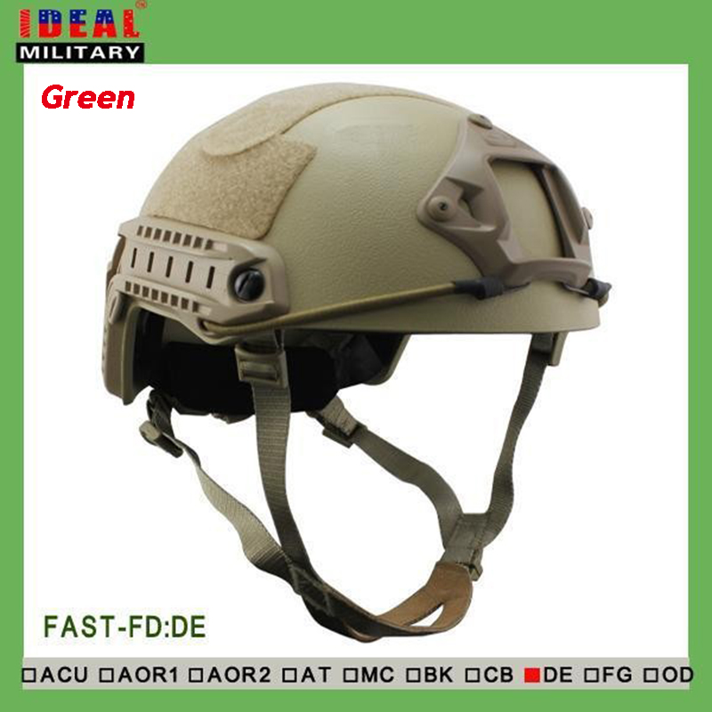 Military Tactical Bulletproof Helme NIJ Standard Fast Kevlar Outdoor Hunting War Games Tactical Sport Ballistic Helmet