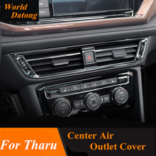 Interior Center Air condition Outlet Cover trim 1pcs For Volkswagen VW 2018 2019 Tharu LHD accessories