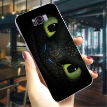 Train Your Dragon Hard Cover for Samsung Galaxy Note 8 Fashion Phone Case S6 S7 Edge S8 S9 Plus S10